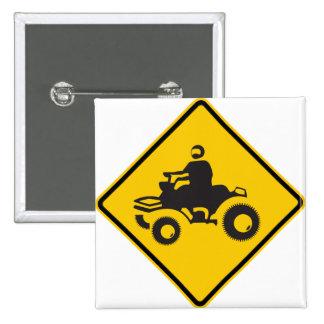 Muestra de la carretera del tráfico de ATV Pins
