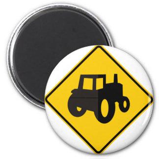 Muestra de la carretera del tráfico de la maquinar imán redondo 5 cm