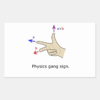 Muestra de la cuadrilla de la física del producto rectangular altavoces