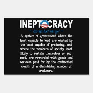 Muestra de la definición de Ineptocracy de la