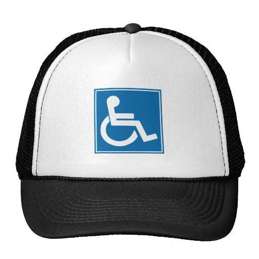 Muestra de la desventaja gorra