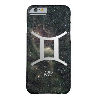 Muestra de la estrella del zodiaco de los géminis funda de iPhone 6 barely there