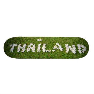 Muestra de la flor de Tailandia Patín