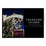Muestra de la isla del tesoro tarjeton