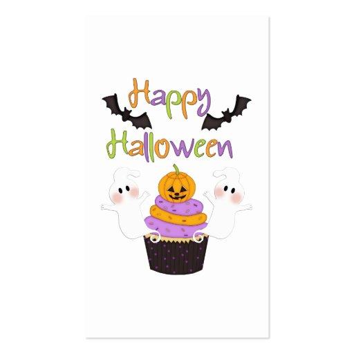 Muestra de la magdalena de Halloween Plantillas De Tarjeta De Negocio
