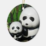 Muestra de la panda del parque zoológico de Ueno