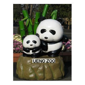 Muestra de la panda del parque zoológico de Ueno Postales
