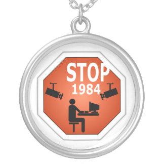Muestra de la parada 1984 pendiente personalizado