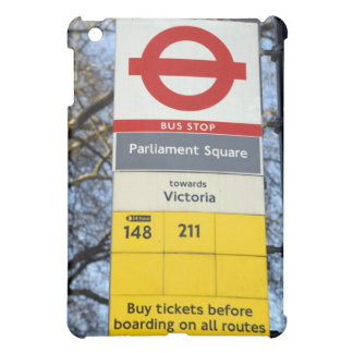 muestra de la parada de autobús de Londres del cas