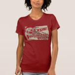 Muestra de la playa de Pontchartrain del viejo est Camisetas