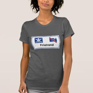 Muestra de la playa del nudista (1), Noruega Camiseta