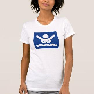 Muestra de la playa del nudista (2), Noruega Camisetas