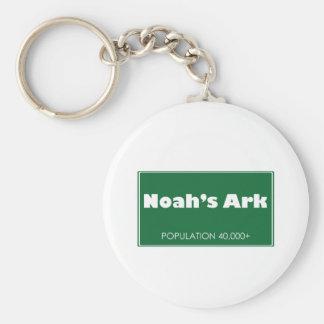 Muestra de la población de la arca de Noah Llaveros Personalizados