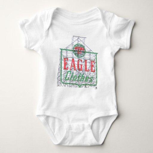Muestra de la ropa de Eagle de Brooklyn Body Para Bebé