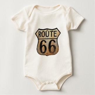 Muestra de la ruta 66 - productos múltiples body para bebé