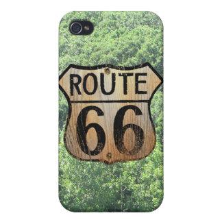 Muestra de la ruta 66 - productos múltiples iPhone 4 fundas