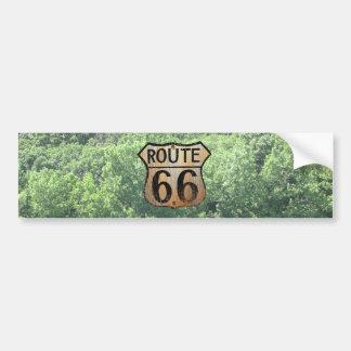 Muestra de la ruta 66 - productos múltiples pegatina para auto