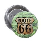 Muestra de la ruta 66 - productos múltiples pin redondo de 2 pulgadas