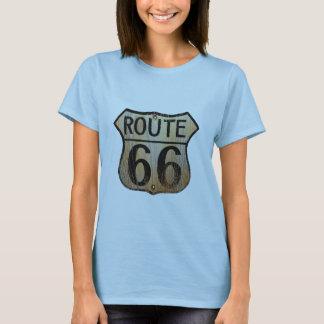 Muestra de la ruta 66 - productos múltiples playera