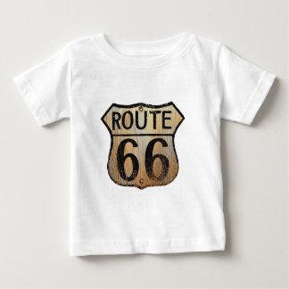 Muestra de la ruta 66 - productos múltiples playera de bebé