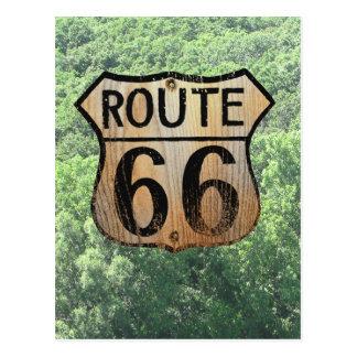 Muestra de la ruta 66 - productos múltiples postales