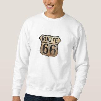 Muestra de la ruta 66 - productos múltiples sudadera