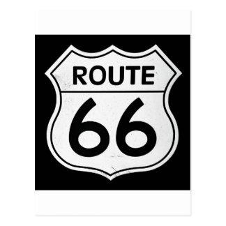Muestra de la ruta 66 postal