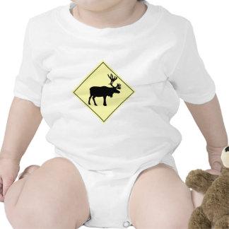 Muestra de la travesía de los alces trajes de bebé