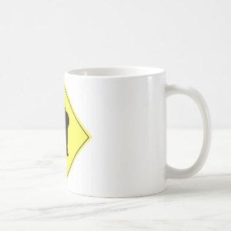 Muestra de la travesía del conejo taza de café
