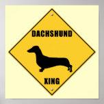 Muestra de la travesía del Dachshund (XING) Poster