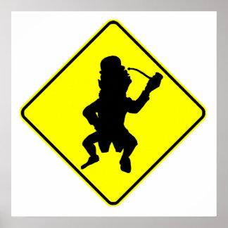 Muestra de la travesía del Leprechaun Poster