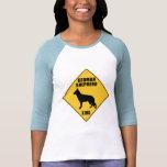Muestra de la travesía del pastor alemán (XING) Camisetas