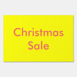 Muestra de la venta del navidad
