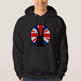 Muestra de la victoria (británica) sudadera encapuchada