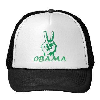 muestra de la victoria de obama gorros bordados