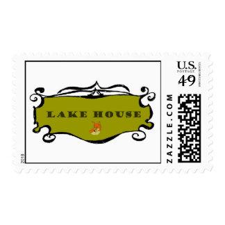 muestra de la voluta de la casa del lago del sellos