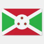 Muestra de la yarda de la bandera de Burundi