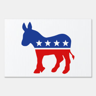 Muestra de la yarda del burro de Demócrata