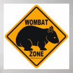 Muestra de la zona de Wombat Impresiones