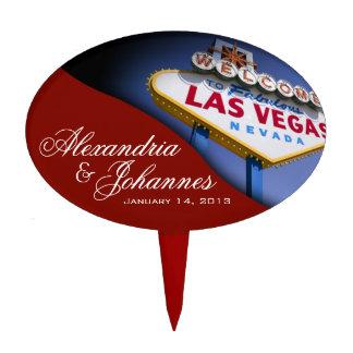 Muestra de Las Vegas del PRIMERO de la TORTA Decoraciones Para Tartas