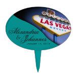 Muestra de Las Vegas del PRIMERO de la TORTA Figuras Para Tartas