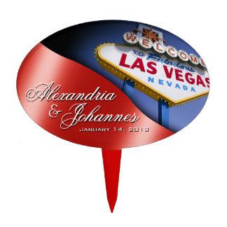 Muestra de Las Vegas del PRIMERO de la TORTA Figura Para Tarta