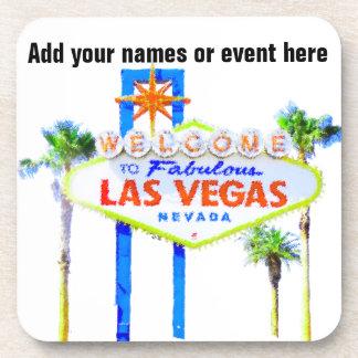 Muestra de Las Vegas personalizada Posavasos De Bebida