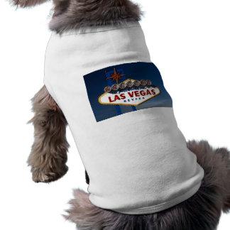 Muestra de Las Vegas Playera Sin Mangas Para Perro