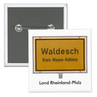 Muestra de los límites de ciudad de Waldesch Ortss Pins