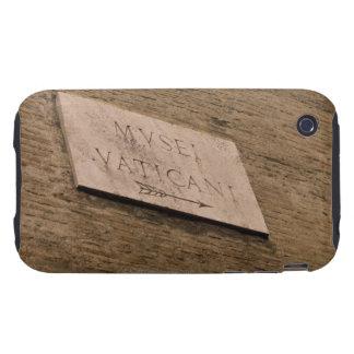 Muestra de los museos de Vatican, Roma, Italia iPhone 3 Tough Cobertura