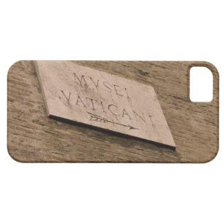 Muestra de los museos de Vatican, Roma, Italia iPhone 5 Fundas