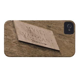 Muestra de los museos de Vatican, Roma, Italia iPhone 4 Carcasa