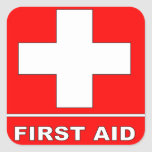 Muestra de los primeros auxilios del rojo