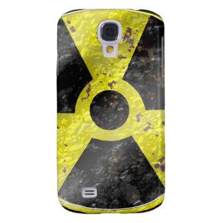 Muestra de los tiempos - radiación del arma nuclea carcasa para galaxy s4